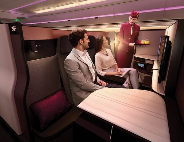 Business Class like never before!